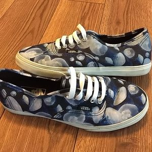 Vans off the wall jellyfish shoes women's 7